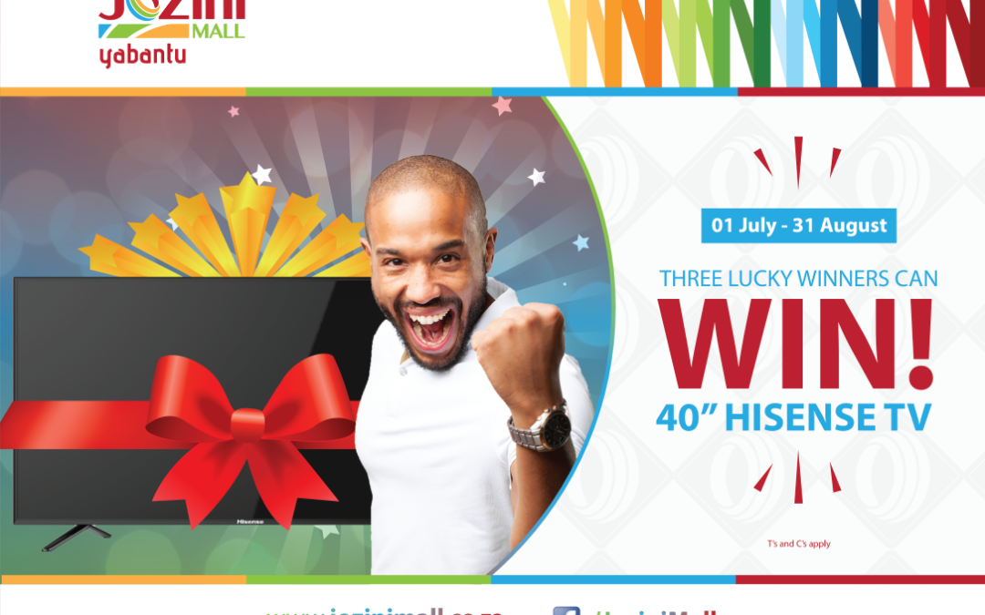Win a TV | Jozini Mall
